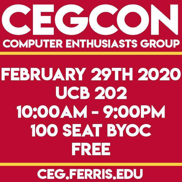 CEGCON2019